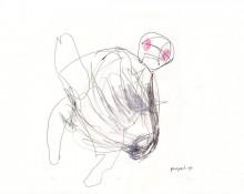 pumped up – Kerstin Müller, Zeichnung