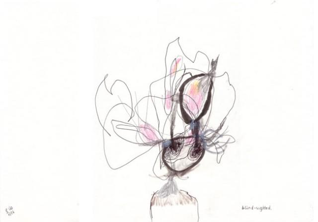blind-sighted- Zeichnung - Kerstin Müller