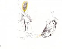 celibacy - Zeichnung - Kerstin Müller