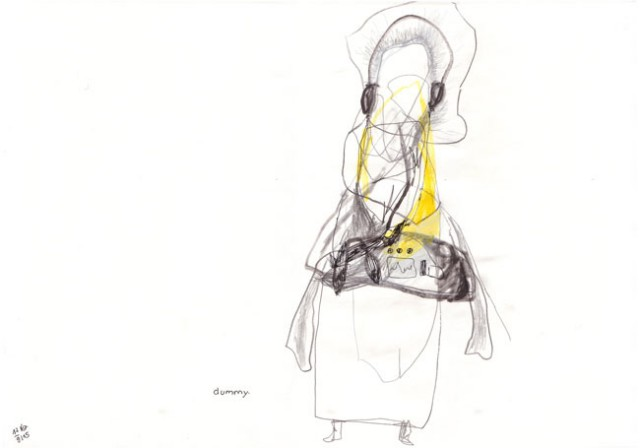 dummy - kerstin Müller - zeichnung