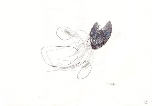moody – kerstin Müller - zeichnung