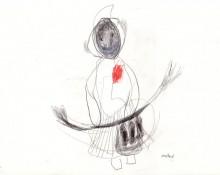 muted – Kerstin Müller Zeichnung