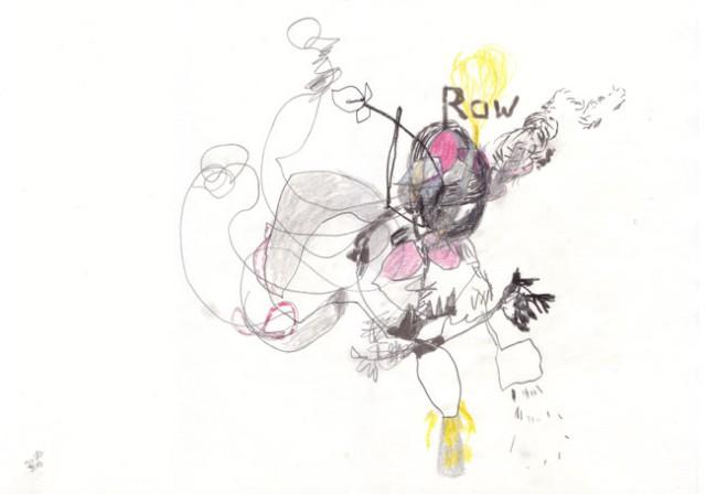 raw – Kerstin Müller Zeichnung