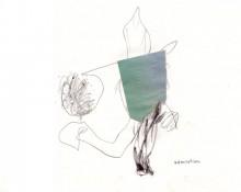 admiration - zeichnung kerstin Müller