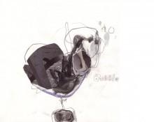 bubble - zeichnung kerstin Müller