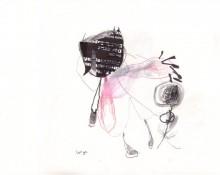let go – Kerstin Müller zeichnung