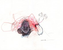 secret life – Zeichnung Kerstin Müller