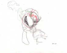 farewell – Kerstin Müller Zeichnung