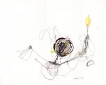 light me up – Kerstin Müller Zeichnung