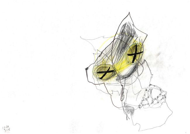 contemplation - Kerstin Müller Zeichnung
