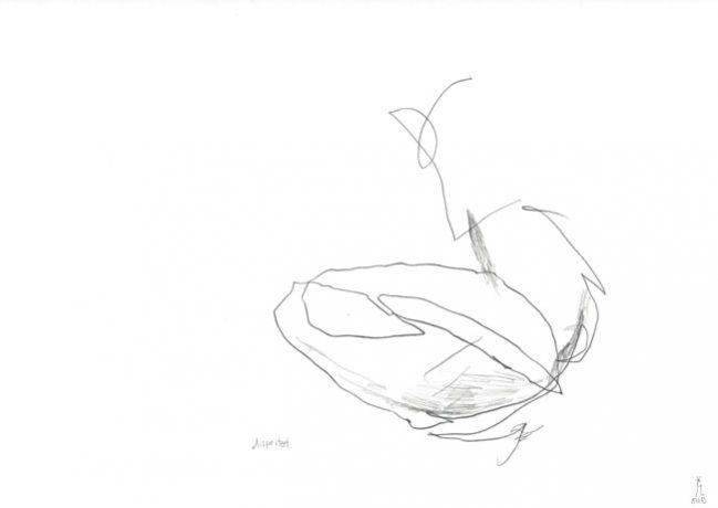 dispirited — Zeichnung Kunst Kerstin Mer