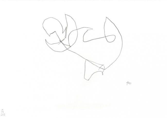 free — Zeichnung Künstlerin Kerstin Mer