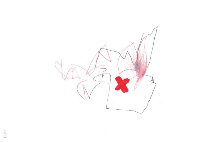 first aid — Kerstin Mer Zeichenkunst