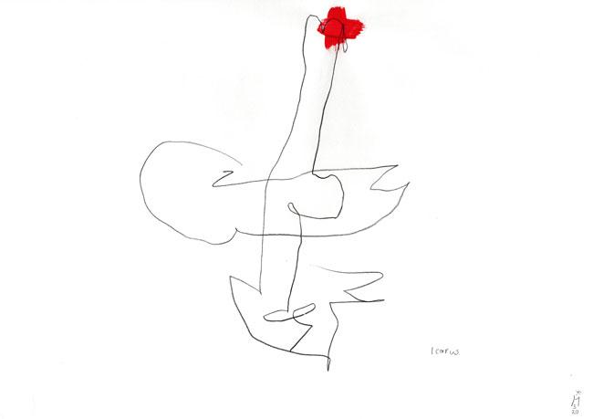 Icarus Kerstin Mer Kunst