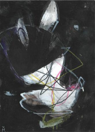 bunny Serie dunkle Bilder — Kunst Kerstin Mer