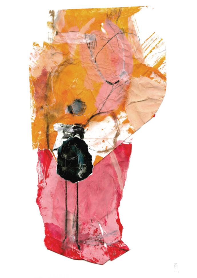 heroine - Collage - Kerstin Mer