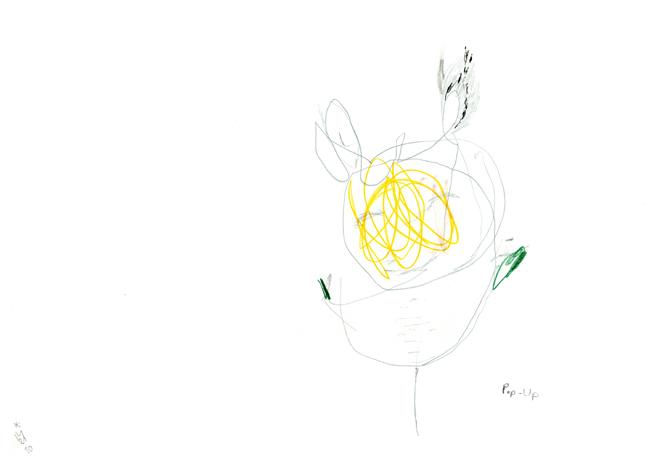 pop Up - Zeichnung Kerstin Mer